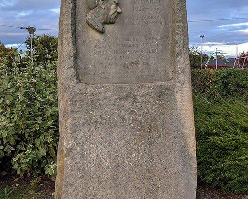 Michael Mcgahey Monument