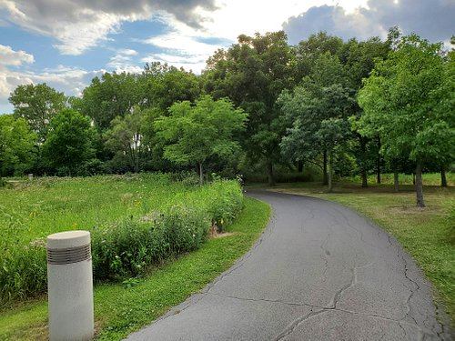 small part of the paved trail