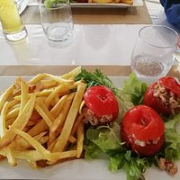 tomate farcies aux crevettes