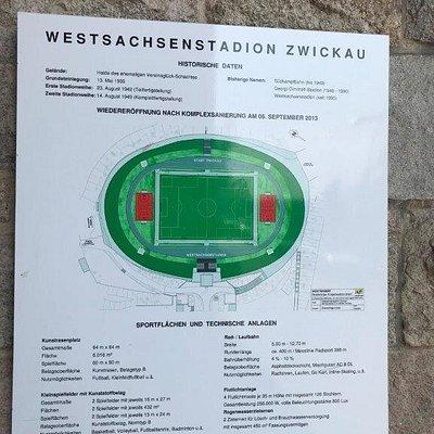 Futbalový štadión - Westachsenstadion Zwickau