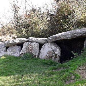 Allée Couverte de Kerguntuil à Trégastel à proximité du dolmen ( 100 mètres ).