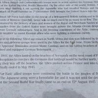 Armed Forces Memorial in Belhaven Park
