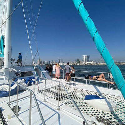 Triton-Charters.com - We had the most amazing catamaran sailing in the San Diego harbor! SUCH a fun boat and amazing crew!