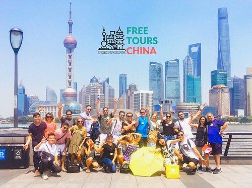 Fun at our Shanghai Free Walking Tours!!