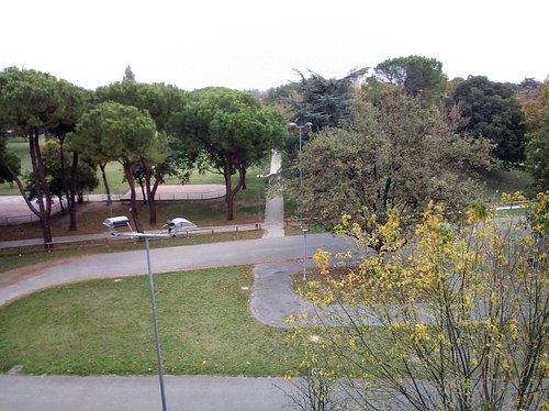 Vista dall'alto del Parco Incontro