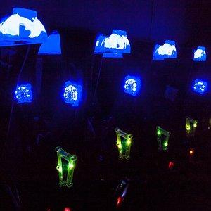 Inside the Laser Tag arena. Latest Helos Pro Laser Tag Packs.