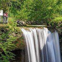 Aussichtsplattform Scheidegger Wasserfälle Foto: David Knipping