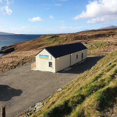 Our Gallery is 2 miles North of Tarbert just off the main road.