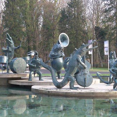 Tervuren, Bandundu Water Jazz Band by Tom Frantzen (2005)