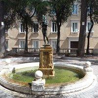 Veduta della fontana