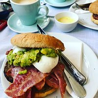 We serve our breakfast options from 10am and all through the day