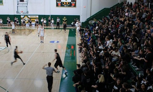 With a seating capacity of 2,400, CU Arena serves as home court for Concordia basketball and volleyball.