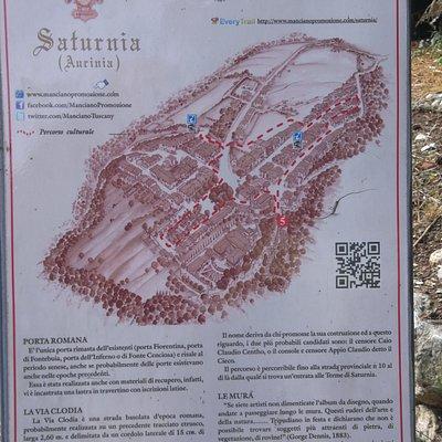 Porta Romana e Via Clodia - Saturnia