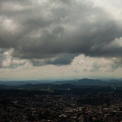Vista geral da cidade de Montenegro.