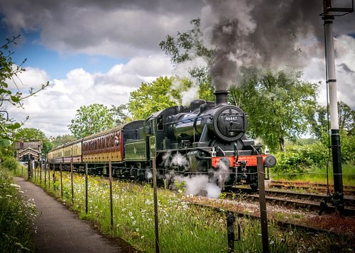 One of our resident locos, the Ivatt 46447 Photo - Lee Kershaw