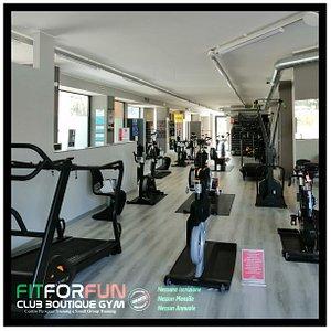 300mq interamente dedicati al Fitness e Wellness in modalità Allenamento Personale.
