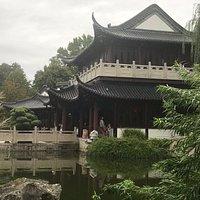 Chinesisches Teehaus im Luisenpark Mannheim