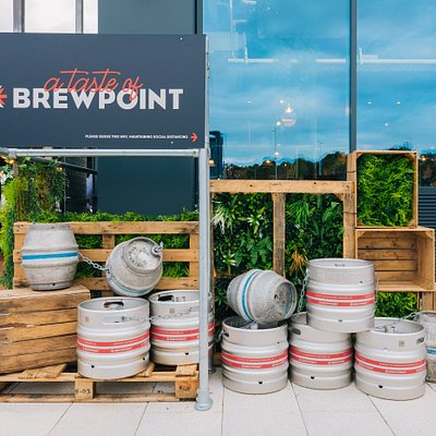 Our Taste of Brewpoint Pop up!