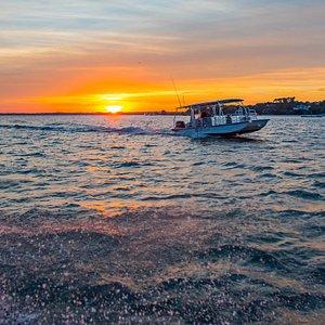 Sunrise boat cruise