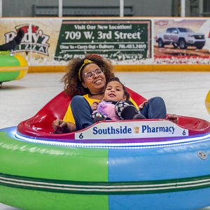 Only 13 facilities in the United States have Ice Bumper Cars and Northwest Arena is one of them! Available during select hours or party rentals.