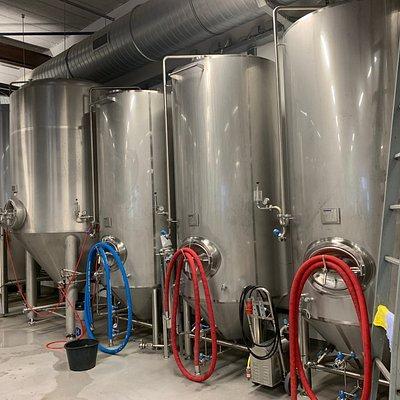 Hier wordt heerlijk bier gemaakt