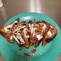 Cinnamon Raisin & Pecan French Toast
