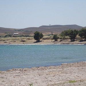 Agios Stefanos beach outside Plaka village - Lemnos, Greece