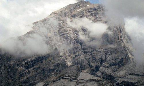 La cima dell'Antelao