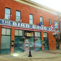 the Bird Drug Building was built by Sidney Bird in 1918
