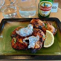 Half a Tandoori Chicken