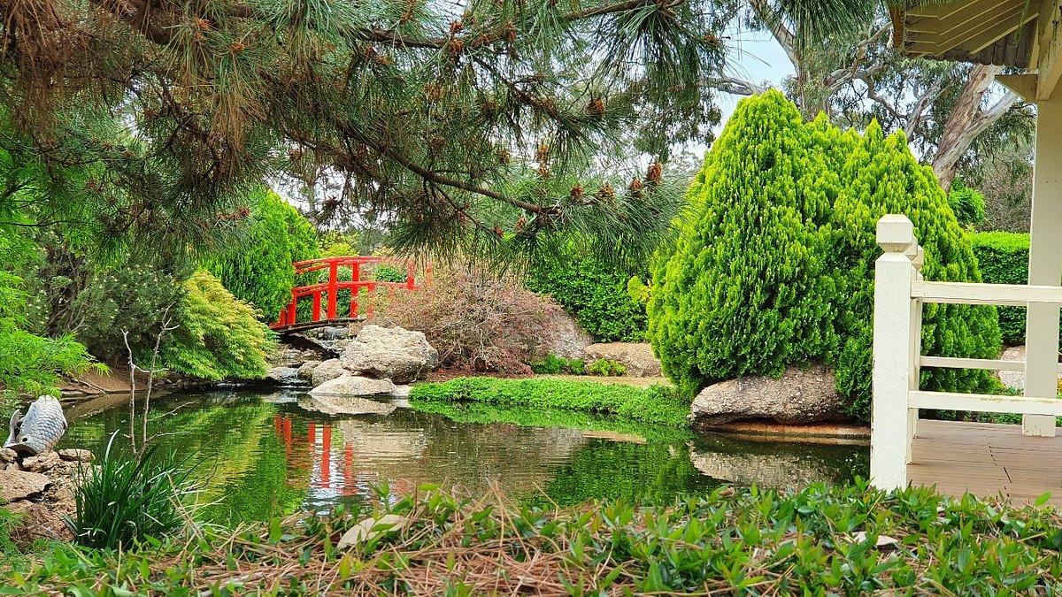 The beautiful Osawano Japanese Gardens in Wellington