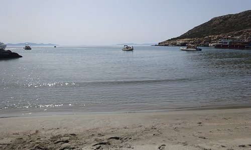 Livadi beach on Despotiko islet - Antiparos, Greece