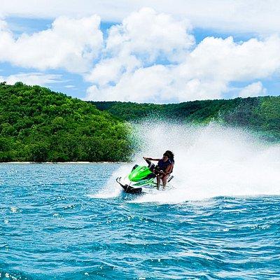 Jet Ski Antigua Action