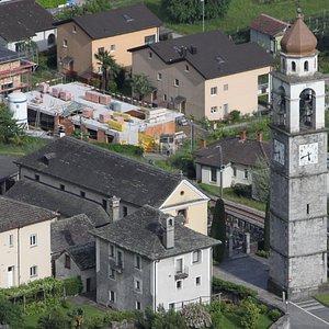 Chiesa di Tegna (canton Ticino)