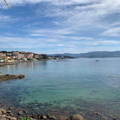 Disfrutando de Sanxenxo 17 de Octubre 2020. Parque Da Panadeira, Rua da Constitución, Sanxenxo (Pontevedra-Galicia-España).