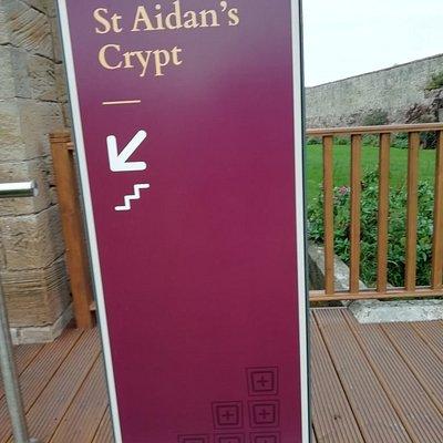St Aidan's Church Crypt