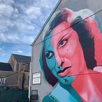 Valerie Hobson Mural 1