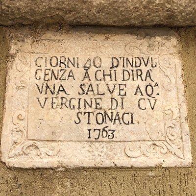 Un'Edicola votiva in via Vittorio Emanuele ....  😇😇😇