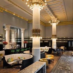 Column Bar - authentic interiors of the Art Nouveau masterpiece