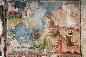 affreschi bisognosi di cure