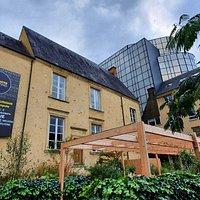 Jardin éphémère, Square des Ursulines près de l'Office de Tourisme - Automne 2020