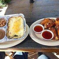 Shepherd's Pie & Chicken Wings