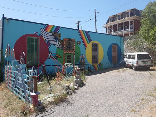 Gallery Mural on back wall
