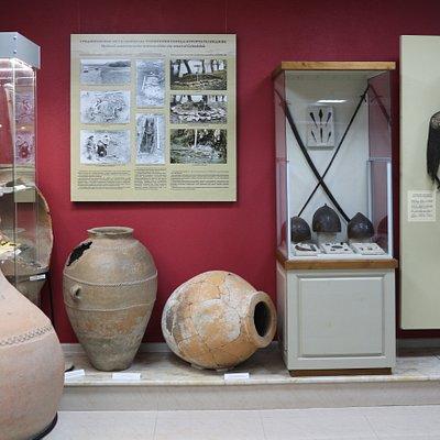 Экспозиция геленджикского музея