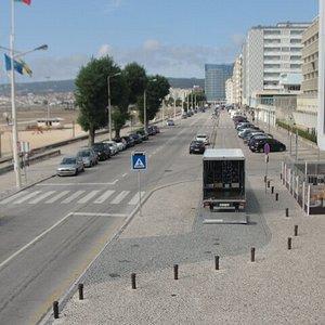 Uma parte da Esplanada Silva Guimarães.