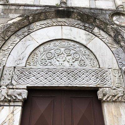 la lunetta sopra il portale