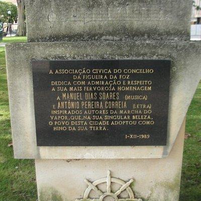 Placa comemorativa.