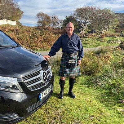 Keith on the Isle of Skye