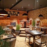 La salle du restaurant Le Tinto
