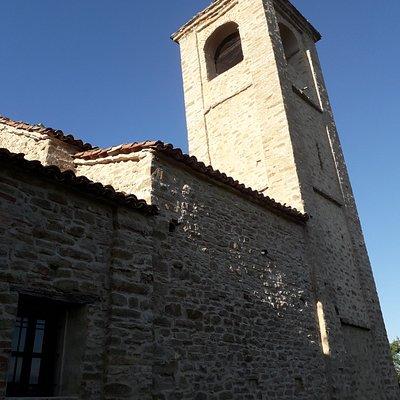 Il campanile a pianta quadrata